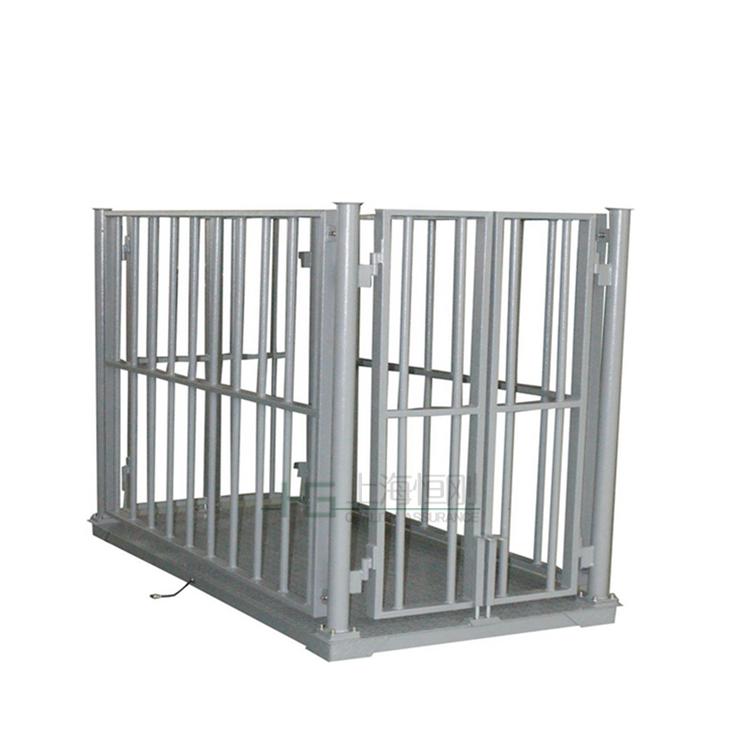 3吨带围栏电子畜牧场,高精度牲畜秤厂家